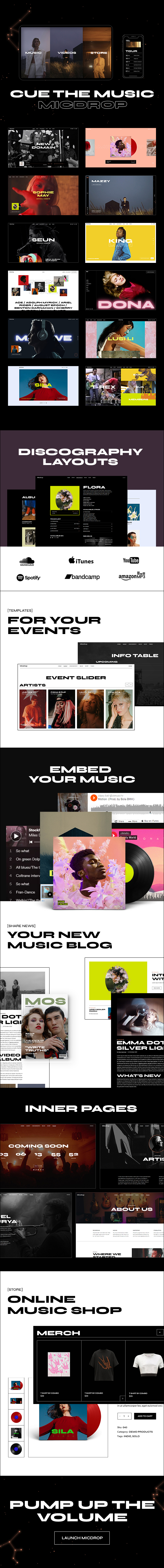 Micdrop - Music WordPress Theme - 2